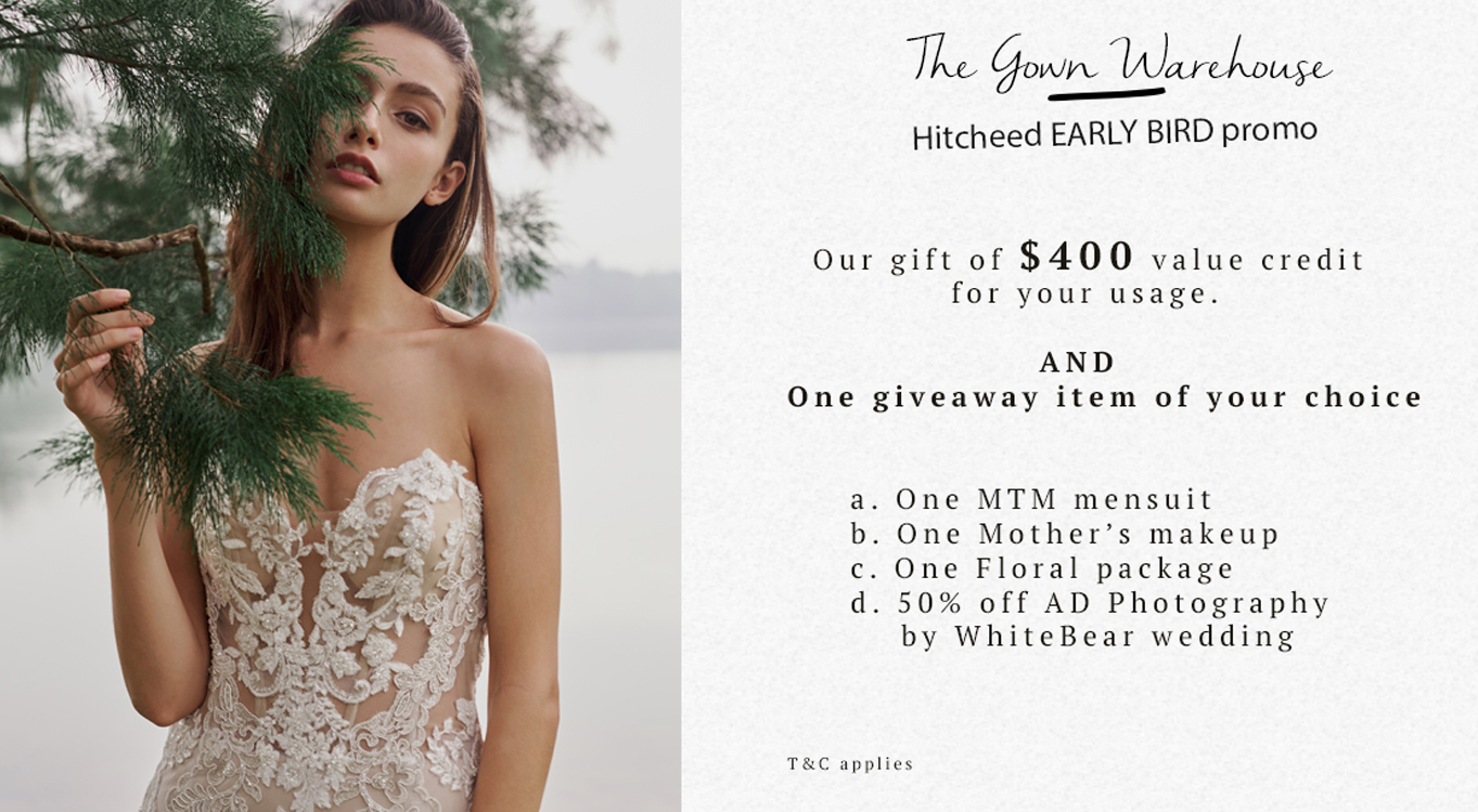 <p>Don't miss the Hitcheed Early Bird Promo</p>